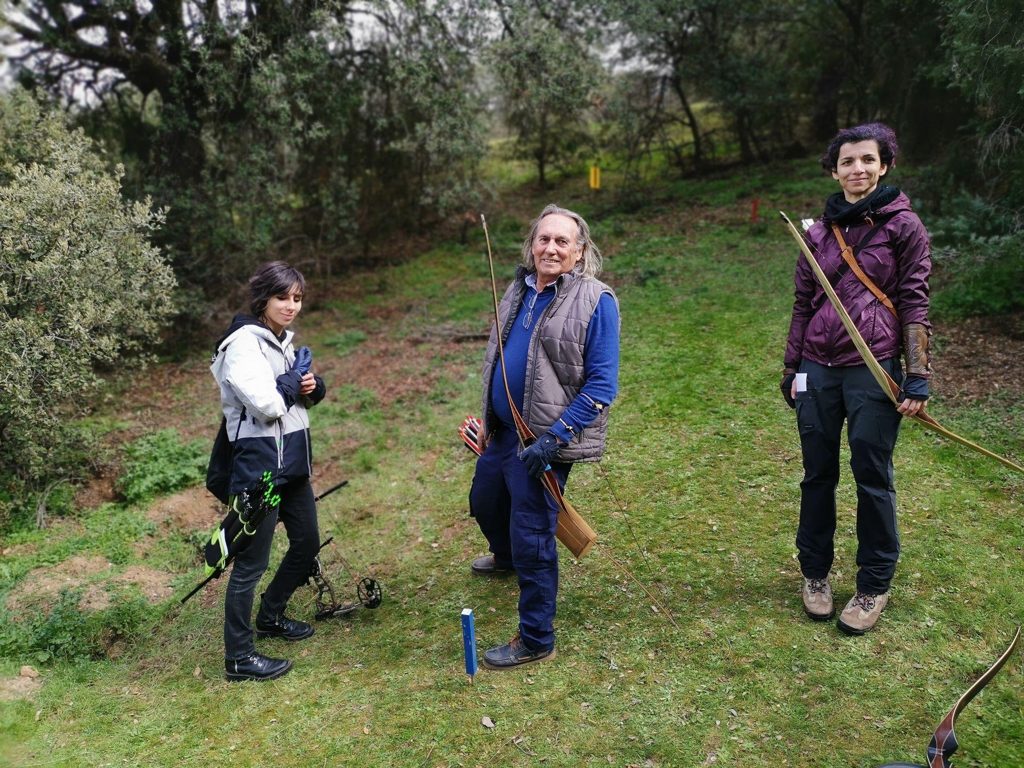 VIII Aniversario Monte Viejo de Arqueros de Madrid, saciados de 3D